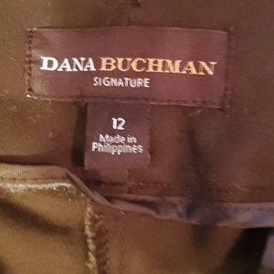 Dana Buchman Pants - Dana Buchman Signature Midrise Stretch Slacks 12